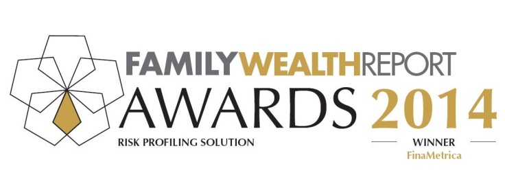 FinaMetrica wins the Family Wealth Report Award for Risk Profiling Solution 2014